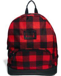 Cambridge Satchel Company - Asos Backpack with Lumberjack Check - Lyst
