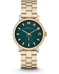 Marc By Marc Jacobs Gold Tone Stainless Steel Watch - Lyst