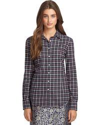 Brooks Brothers Plaid Flannel Shirt - Lyst