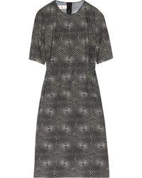 Marni Printed Cotton-poplin Dress - Lyst