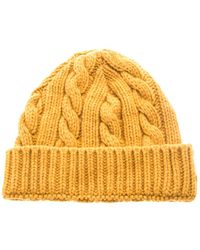 Oliver Spencer   Cable Knit Beanie Hat   Lyst