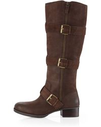 Boutique 9 Dacia Threebuckle Knee Boot - Lyst