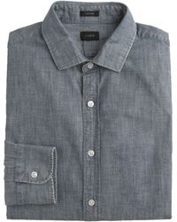 J.Crew Ludlow Shirt In Japanese Chambray - Lyst
