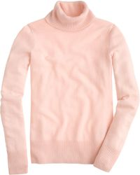 J.Crew Collection Cashmere Turtleneck Sweater - Lyst