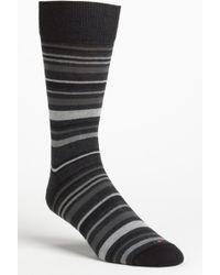 Hook + Albert | Stripe Socks | Lyst