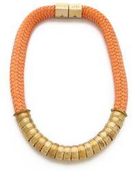 Holst + Lee Holst Lee Classic Short Necklace - Lyst