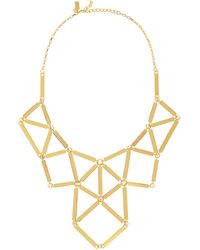 Kate Spade Turn The Corner Statement Necklace - Lyst