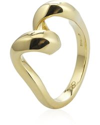 Links of London - Gold Entwine Ring - Lyst