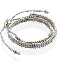 Links of London - Double Wrap Friendship Bracelet - Lyst