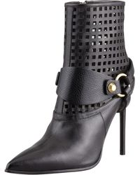Reed Krakoff - Harness Leather Ankle Boot - Lyst