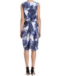 Wayne - Cloud Print Dress - Lyst