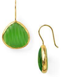Coralia Leets - Labradorite Melon Cut Earrings - Lyst