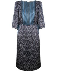 Suno Panel Tunic Dress - Lyst