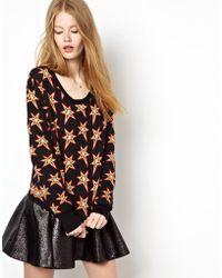 Emma Cook Jaquard Star Sweater