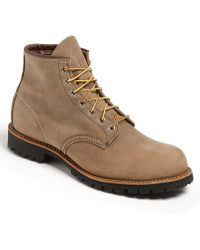 Red Wing Round Toe Boot - Lyst