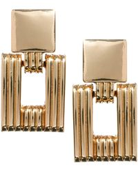 ASOS - Asos Articulated Chain Link Earrings - Lyst