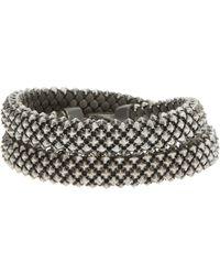 Laura B - Bead Chain Bracelet - Lyst
