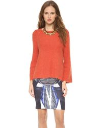 Clover Canyon Angora Sweater - Lyst