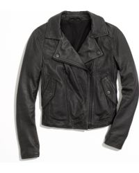 Madewell Perfect Leather Motorcycle Jacket - Lyst