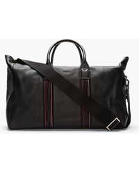 Paul Smith Pebbled Leather Duffle Bag - Lyst