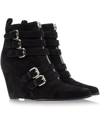 Tabitha Simmons Ankle Boots - Lyst