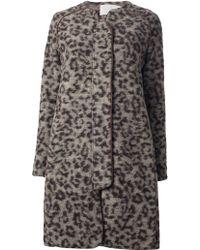 Thakoon Addition - Leopard Print Coat - Lyst