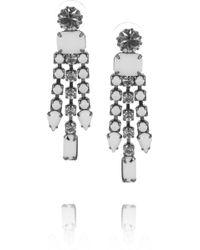 Tom Binns - Carte Blanche Swarovski Crystal Drop Earrings - Lyst