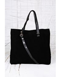 Urban Outfitters - Suede Shoulder Bag in Black - Lyst