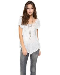 Free People Lil Luella Top - Lyst