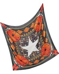 Givenchy - Modal and Cashmere Star Print Wrap - Lyst