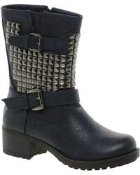 Carvela Kurt Geiger Carvela Harvey Studded Boot - Lyst