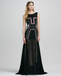 Mara Hoffman Embroidered Minilined Backless Gown - Lyst