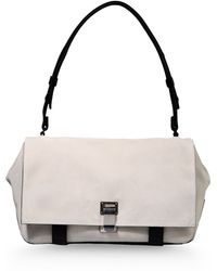 Proenza Schouler Medium Leather Bag white - Lyst