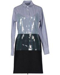 Sacai Kneelength Dress - Lyst