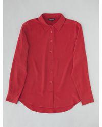 Vaughan The Hepburn Silk Shirt - Love Affair - Lyst