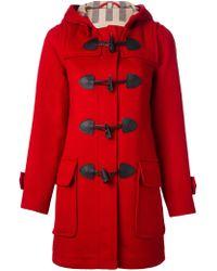 Burberry Brit Duffle Coat - Lyst