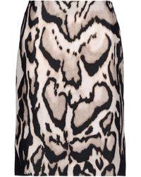 Diane von Furstenberg Knee Length Skirt brown - Lyst