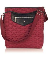 Knomo - Maple Black Cherry Cross Body Bag - Lyst