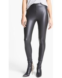 Leith Lacquered Leggings - Lyst