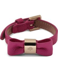 Mulberry Mulberry Bow Bracelet - Lyst
