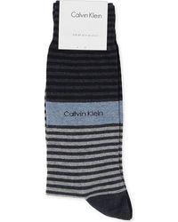 Calvin Klein Bold Stripe Socks - Lyst