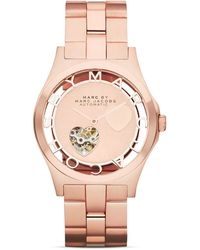 Marc By Marc Jacobs Limited Edition Skeleton Watch 40mm - Lyst