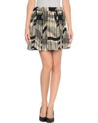 Calla - Mini Skirt - Lyst