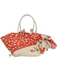 Sundek Large Fabric Bag - Lyst