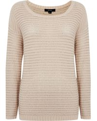 Therapy Sequin Knit Jumper - Lyst