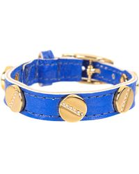 CC SKYE The Signature Screw Bracelet with Gold Pave - Lyst