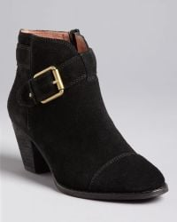 Corso Como - Buckled Booties Applewood Mid Heel - Lyst