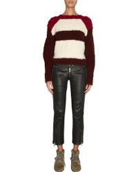 Isabel Marant Colorblock Sweater - Lyst