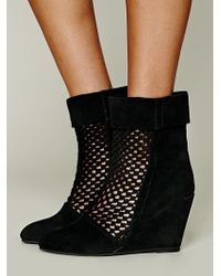Jeffrey Campbell Rochelle Wedge Boot - Lyst