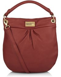 Marc By Marc Jacobs Classic Q Hillier Hobo Leather Bag - Lyst